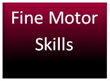 Fine Motor Skill Icon