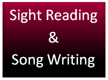sight reading and Song Writing icon